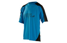 Royal Racing AM Ride Bike Jersey youth electric blue/black